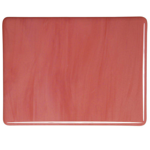 Salmon Pink Opal (305) 2mm-1/2 Sheet-The Glass Underground