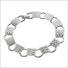Silver Chain Bracelet-The Glass Underground