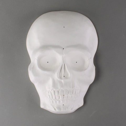 Skull Mask Drape Mold-The Glass Underground