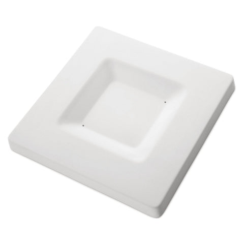 Soft Edged Platter (8985)-Default-The Glass Underground