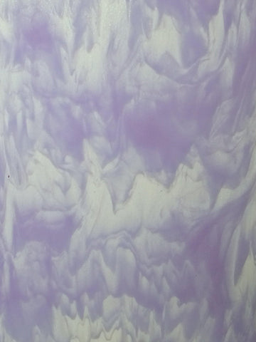 Special Streaky Lavender/Clear (2001F) 3mm-1/2 Sheet-The Glass Underground