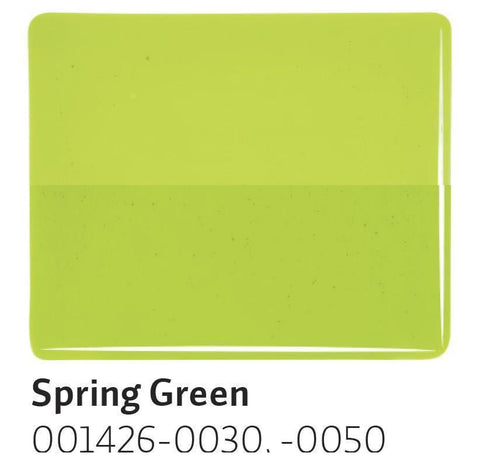 Spring Green Transparent (1426) 2mm-1/2 Sheet-The Glass Underground
