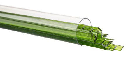 Spring Green Transparent Ribbon (1426) - The Glass Underground