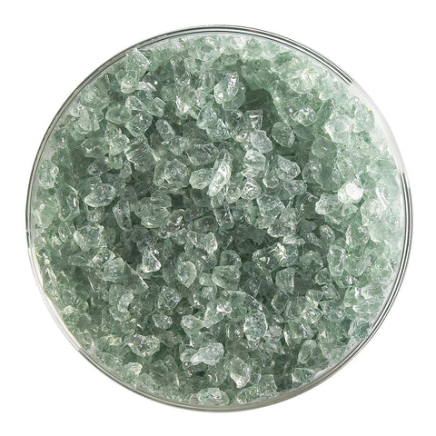Spruce Green Tint Transparent Frit (1841)-5 lbs.-Coarse-The Glass Underground