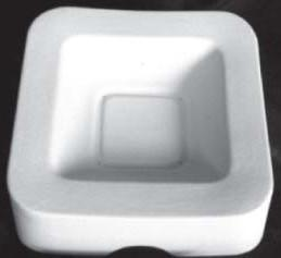 Square Bowl with Round Corners (SQRB)-The Glass Underground