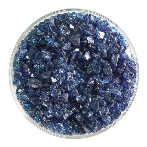 Steel Blue Transparent Frit (1406)-5 lbs.-Coarse-The Glass Underground