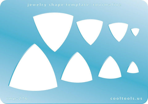Tourmaline Shape Template-The Glass Underground