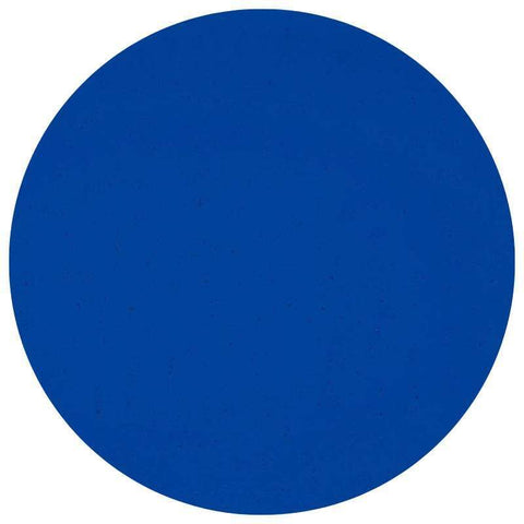 Transparent Glass Circles - Deep Royal Blue (1114)