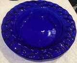 "Transparent Glass Circles-6""-Deep Royal Blue (1114)-The Glass Underground"