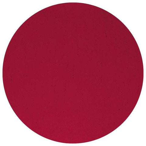 Transparent Glass Circles - Red (1122)