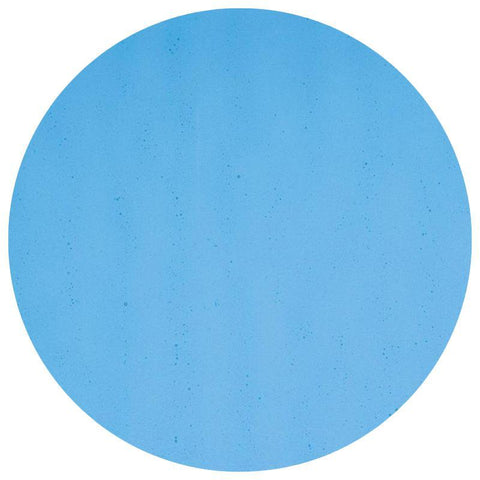 Transparent Glass Circles - Turquoise Blue (1116)