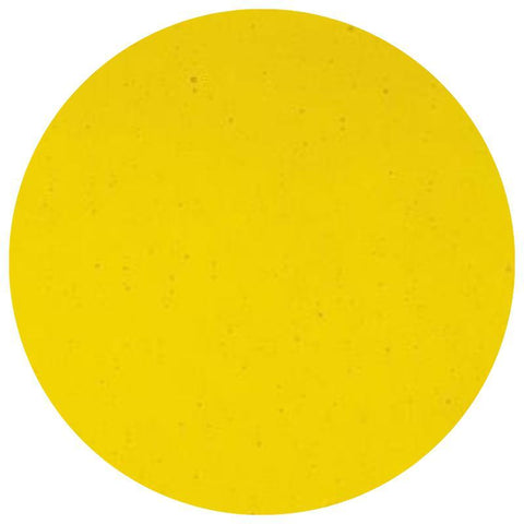 Transparent Glass Circles - Yellow (1120)