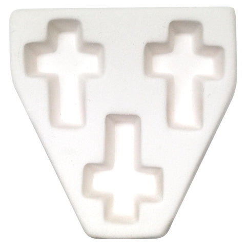 Triple Cross Casting Mold-The Glass Underground