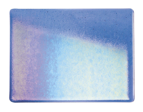 True Blue Transparent Irid (1464-31) 3mm-1/2 Sheet-The Glass Underground