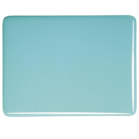Turquoise Blue Opal (116) 3mm-1/2 Sheet-The Glass Underground