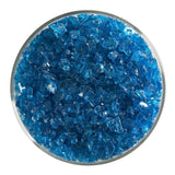 Turquoise Blue Transparent Frit (1116)-5 lbs.-Coarse-The Glass Underground