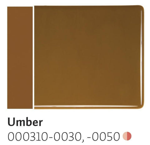 Umber Opal (310) 2mm-1/2 Sheet-The Glass Underground