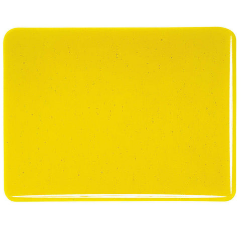 Yellow Transparent (1120) 3mm-1/2 Sheet-The Glass Underground