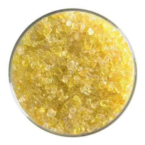 Yellow Transparent Frit (1120)-5 lbs.-Coarse-The Glass Underground