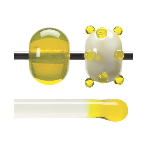 Yellow Transparent Rod (1120)-1 lb.-The Glass Underground