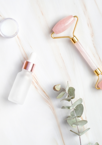 Face Oil and Face Roller