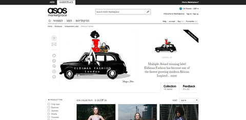 We are on ASOS!