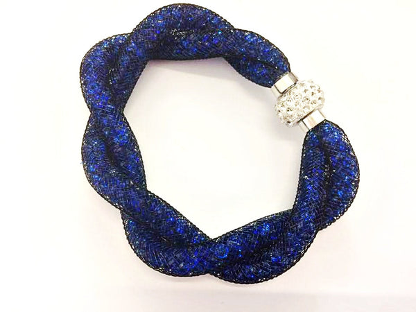 Navy Metalic Eldimaa Bangles - Eldimaa Fashion