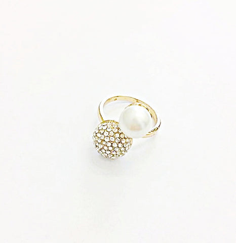 Pearl Ring by Eldimaa Fashion - Eldimaa Fashion