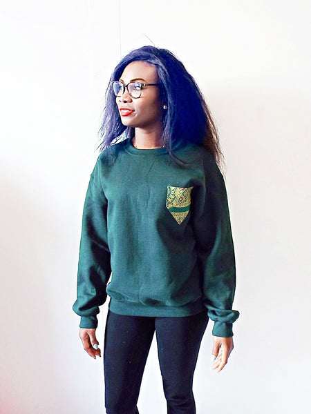 Green Jumper - Eldimaa Fashion