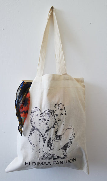Eldimaa Cotton Tote ShoppersBag - Eldimaa Fashion
