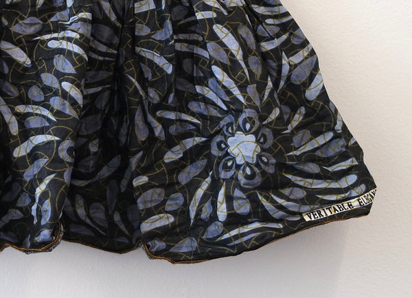Ankara Grey Skirt for Girls by Eldimaa Fashion - Eldimaa Fashion