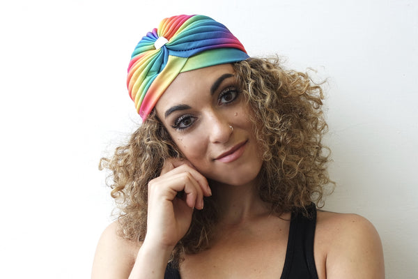 Rainbow Turban for Women - Eldimaa Fashion