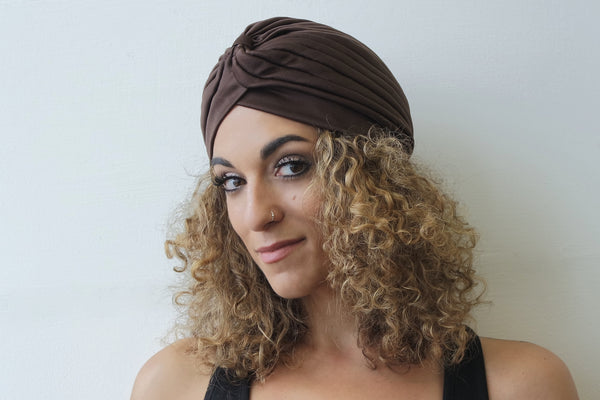 Brown Turban for Women - Eldimaa Fashion