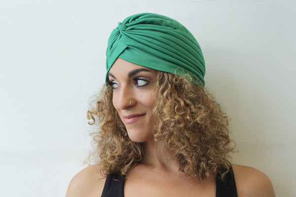 Green Turban for Women - Eldimaa Fashion