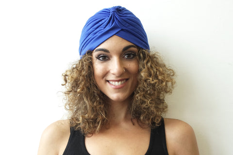 Blue Turban for Women - Eldimaa Fashion