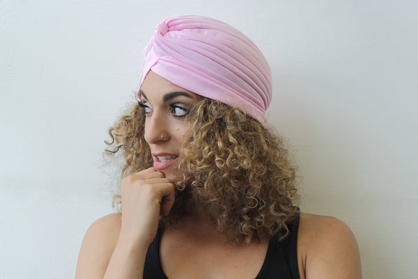 Light Pink Turban for Women - Eldimaa Fashion