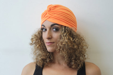 Orange Turban for Women - Eldimaa Fashion