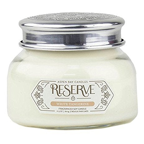 Aspen Bay RESERVE Candle-White Tangerine