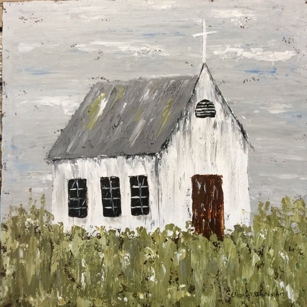 "ETW Local Art ""Palette Knife Church"""
