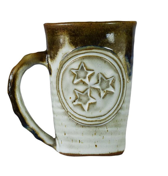 Fingerprint Pottery TN Coffee Mug