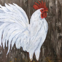 "ETW Local Art ""White Rooster"""