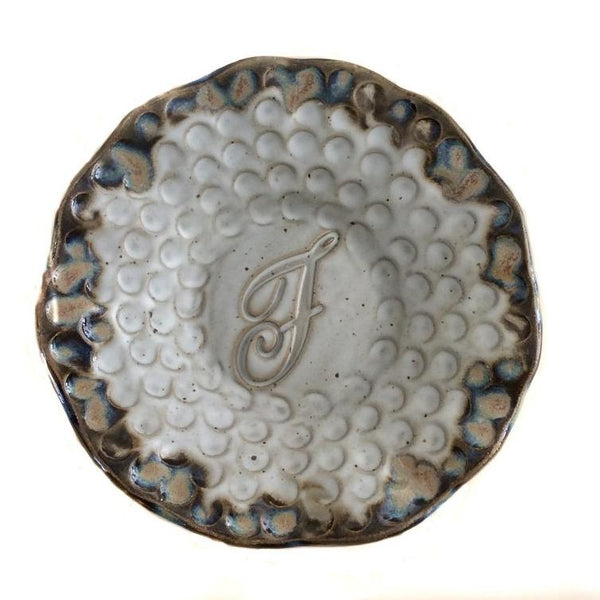Round Initial Plate