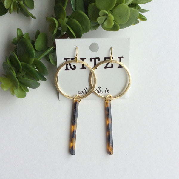Kitzi Acrylic Earrings