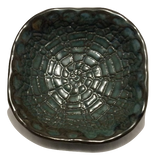 Fingerprint Pottery Rounded Dish