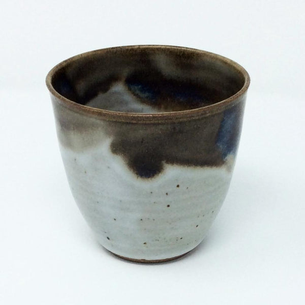 Fingerprint Pottery Stemless Wine or Juice Cup