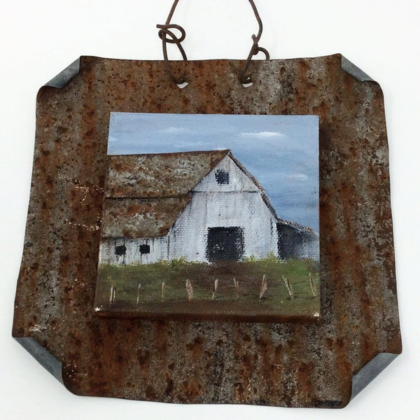 "ETW Local Art ""Barn with Tin Roof"""