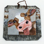 "ETW Local Art ""Cow on Tin"""