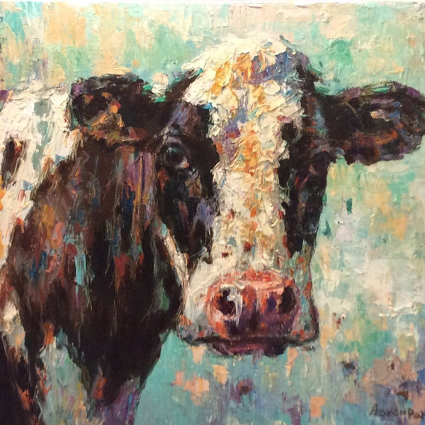 "Original Oil Painting ""Holstein"""