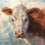 "Original Oil Painting ""Hereford"""