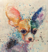 "Original Oil Painting ""Chihuahua"""